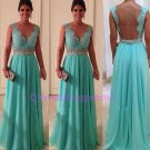 2015 new Green lace prom dress long prom dress, bridesmaid dress,evening dress