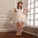 2015 New sexy elegant lace bridesmaid dress short fashion show dress