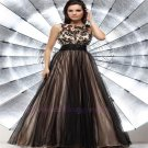 Elegant Applique Lady Formal Party Evening Long Ball Prom Gown Custom Dress