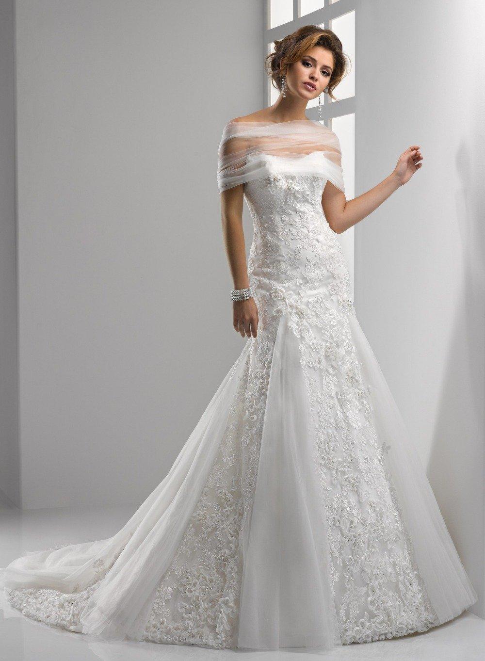 Sexy Wedding Dress A-Line Backless White Sweetheart Plus Size Long Lace Wedding Dress