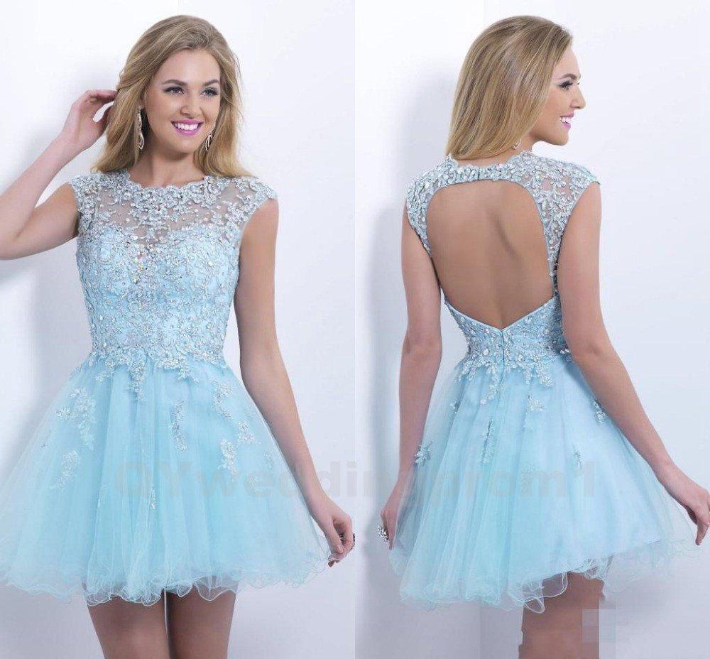 Short Prom Dress Homecoming Dress Bead Cheap Prom Dress