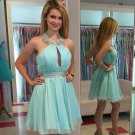 Short Homecoming Dress Mint Short Prom Dress A Line Party Evening Dressess