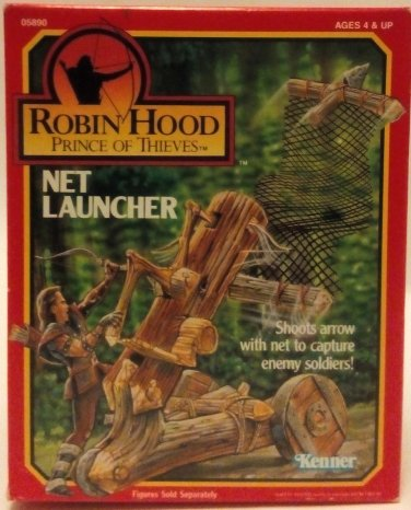 Kenner Robin Hood Prince of Thieves Net Launcher
