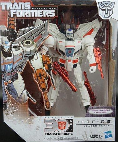 Transformers Generations Leader Class Jetfire Figure 30th Anniversary