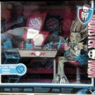 Mattel Monster High Frankie Stein Vanity Accessory Table Mirror Stool Set