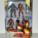 Hasbro MARVEL Avengers Ironman Iron Man 3 Hall of Armor Tony Stark 6 Figures