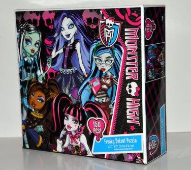 Monster High Freaky Velvet Jigsaw Puzzle 150 Piece
