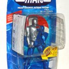 Pepsi Man Head Change Action Figure Blue Model