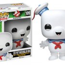 Funko Pop Ghostbusters Stay Puft Mashmallow Bobble Head Figure 109