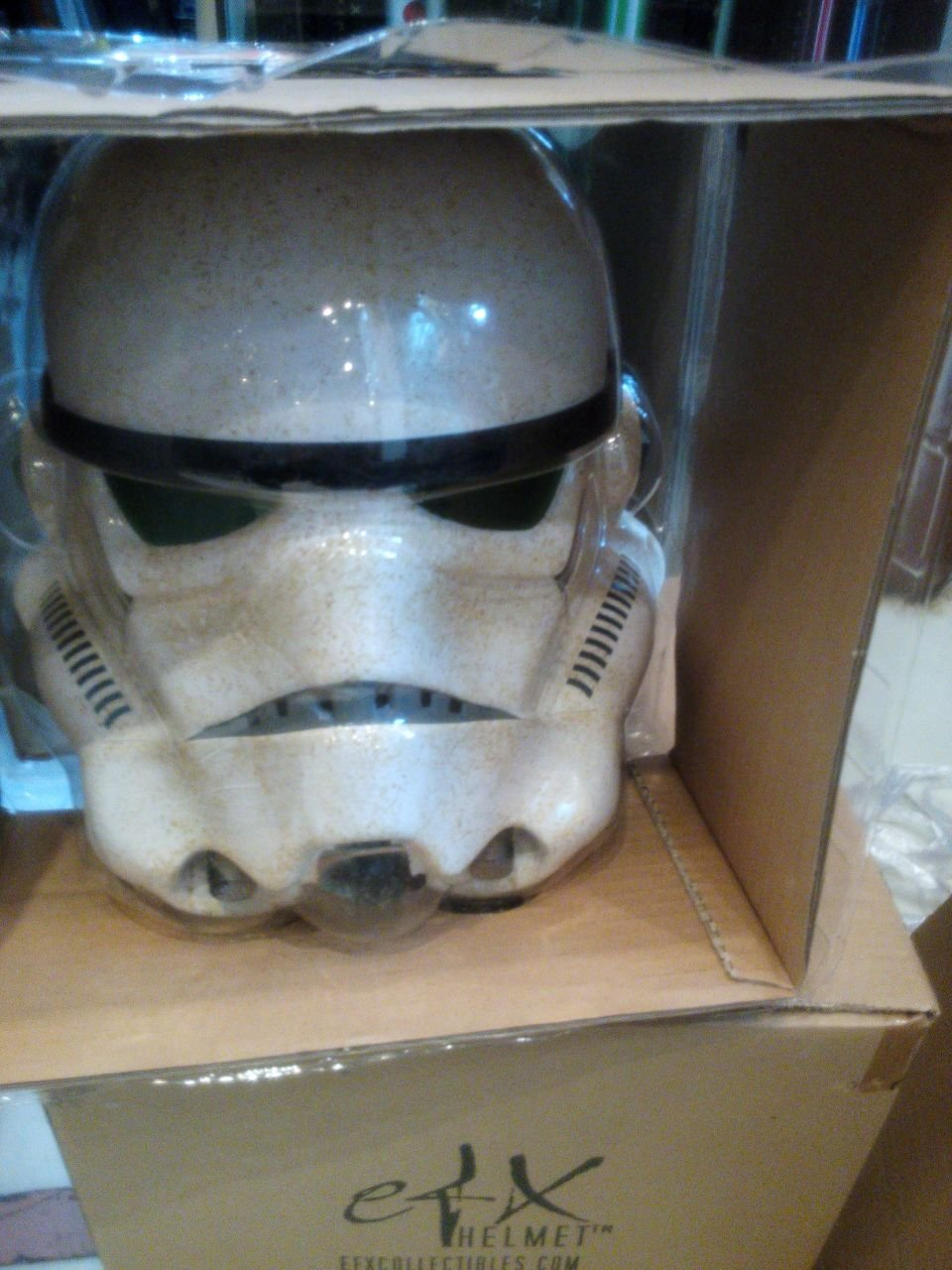 Star Wars efx Sandtrooper Helmet EPIV ANH Limited Edtiion