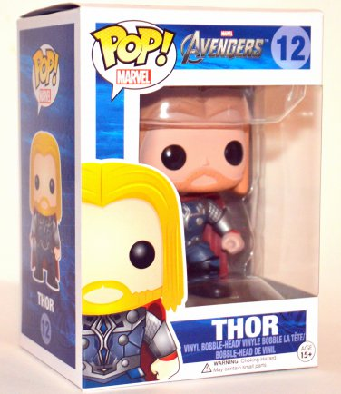 Funko POP Marvel Avengers Thor Vinyl Figure #12 Retired