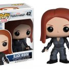 Funko Pop Captain America Black Widow Vinyl Figure #42