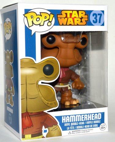 Funko Pop Star Wars Hammerhead Vinyl Bobble Head Figure #37