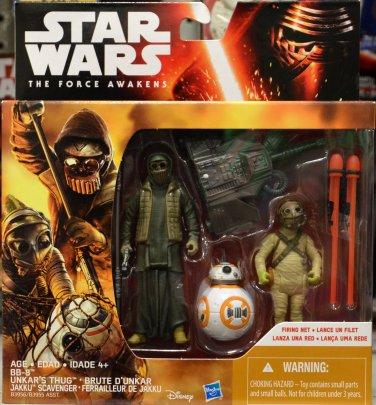 Star Wars Episode VII Force Awakens Unkar's Thug Brute D'unkar Figure 2 Pack