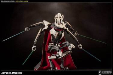 Sideshow Star Wars General Grievous 1/6 Scale Figure