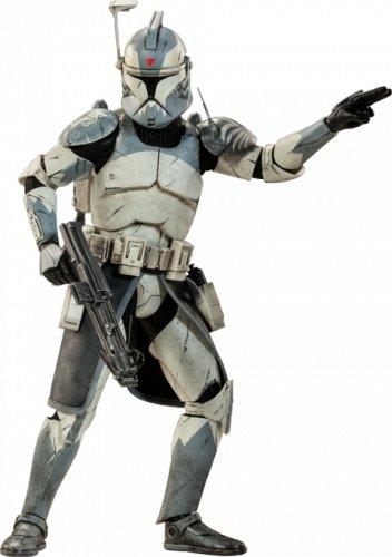 Star Wars Sideshow Clone Commander Wolffe 1/6 Scale Figure