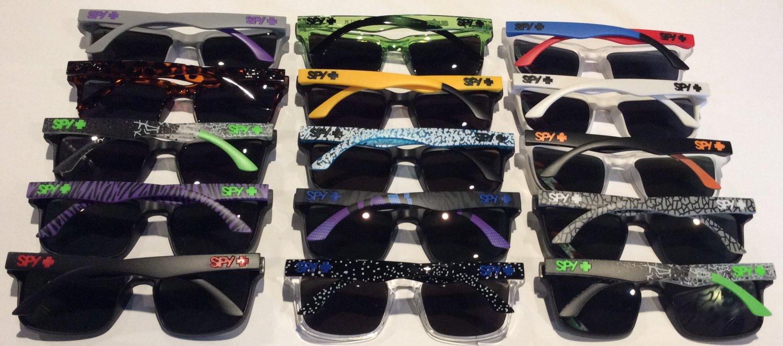 14f3f75373 Ken Block Spy Helm Polarized Unisex Sunglasses