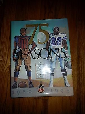75 Seasons The Complete Story the National Football League 1920-1995 Collectible