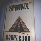1979 Sphinx by Robin Cook, Hardcover