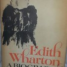 Rare 1975 EDITH WHARTON Biography RWB LEWIS Female Author Yale 1st Printing Vtg
