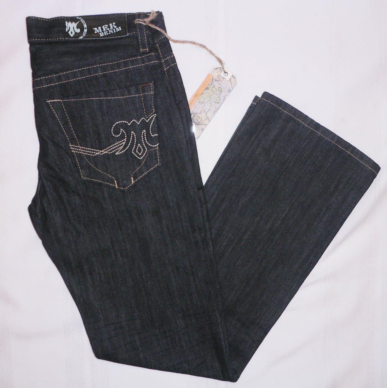 MEK DENIM mens Jeans by ROCK REVIVAL KLIEN Bootcut size 32 34 blue rinse