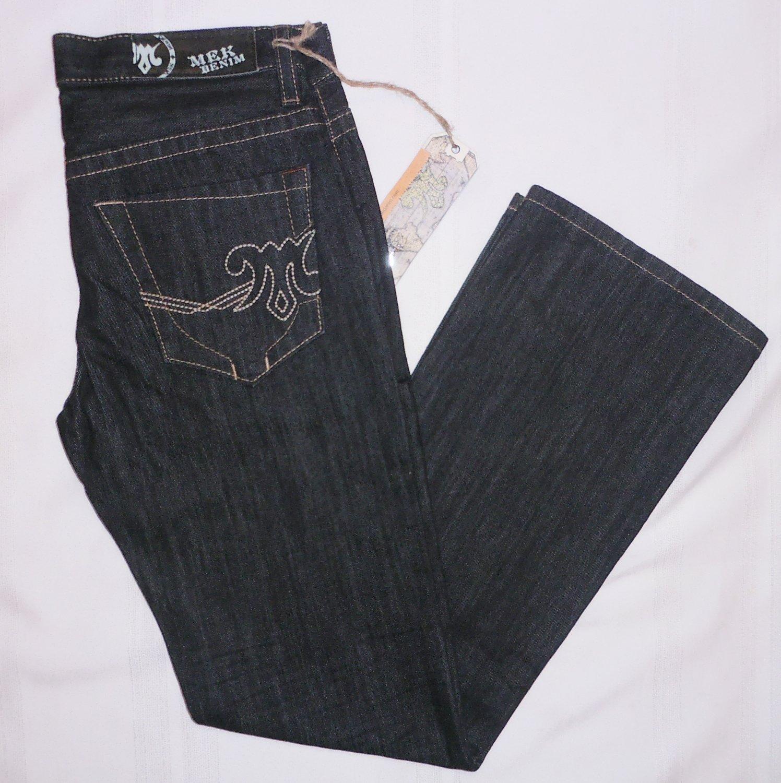 MEK DENIM mens Jeans by ROCK REVIVAL KLIEN Bootcut size 34 34 blue rinse