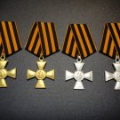 MEDAL ORDER SET THE GEORGE CROSS # 82