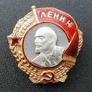 MEDAL ORDER LENIN 1936-1943 GG (SCREW) USSR COPY # 62