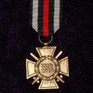 HONORARY VETERAN CROSS 1914-1918 WITH SWORDS # 10893