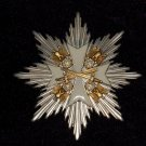 STAR THE ORDER OF THE EAGLE WITH SWORDS #10700