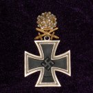 KNIGHT'S CROSS WITH SWORDS AND DIAMONDS # 10701