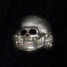 Cap Badge  Skull #10735