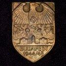 Sleeve Shield Budapest 1944-1945  #10910