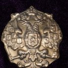 Badge times of imperial Russia TSAR RUSSIA #10947