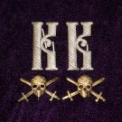 Monogram on shoulder straps shock Kornilov Regiment WHITE MOVEMENT #10790