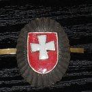 Rivne self Cap Badge WHITE MOVEMENT #10926