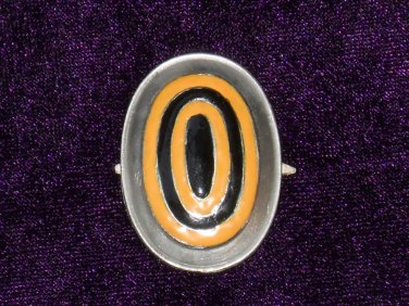 Cap Badge of White movement (soldier) WHITE MOVEMENT #10990