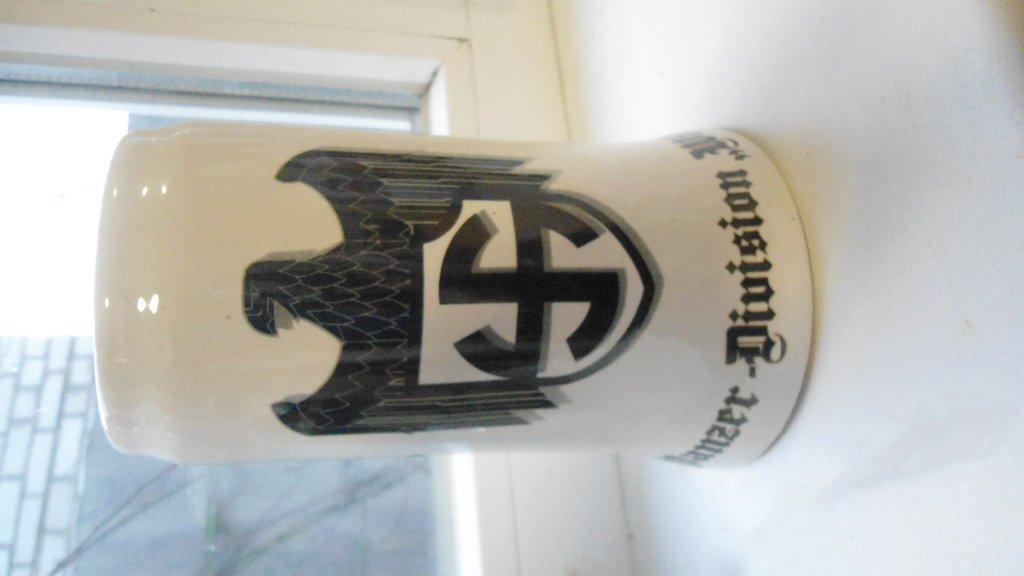 World War II Germany wineglass glass of beer, a cup, cross #7