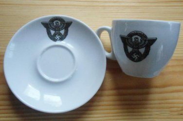 World War II Germany coffee cup and saucer set  #14