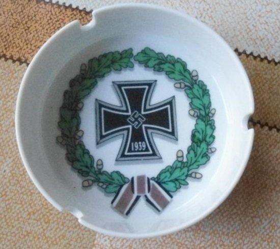 World War II Germany Ashtray cross  #42