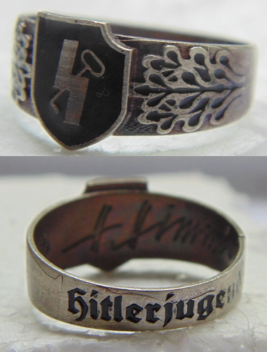 RING silver 800 #1