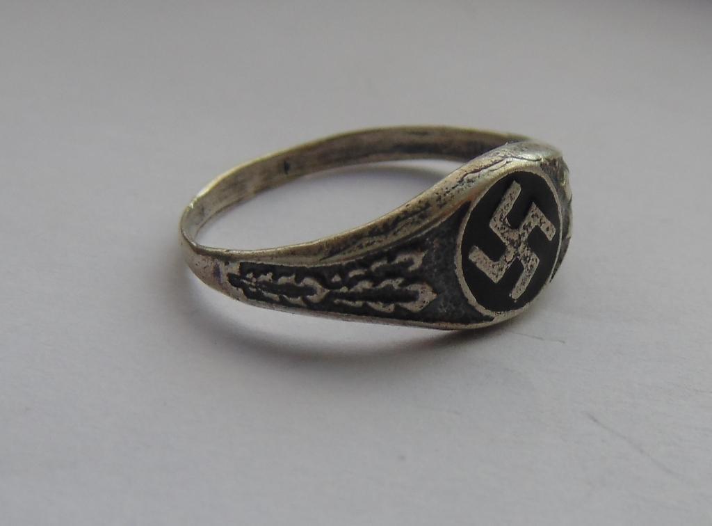 Ring cross silver 800 #3