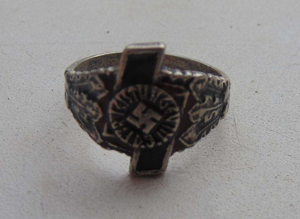 Ring For achievements in the silver 800 #5