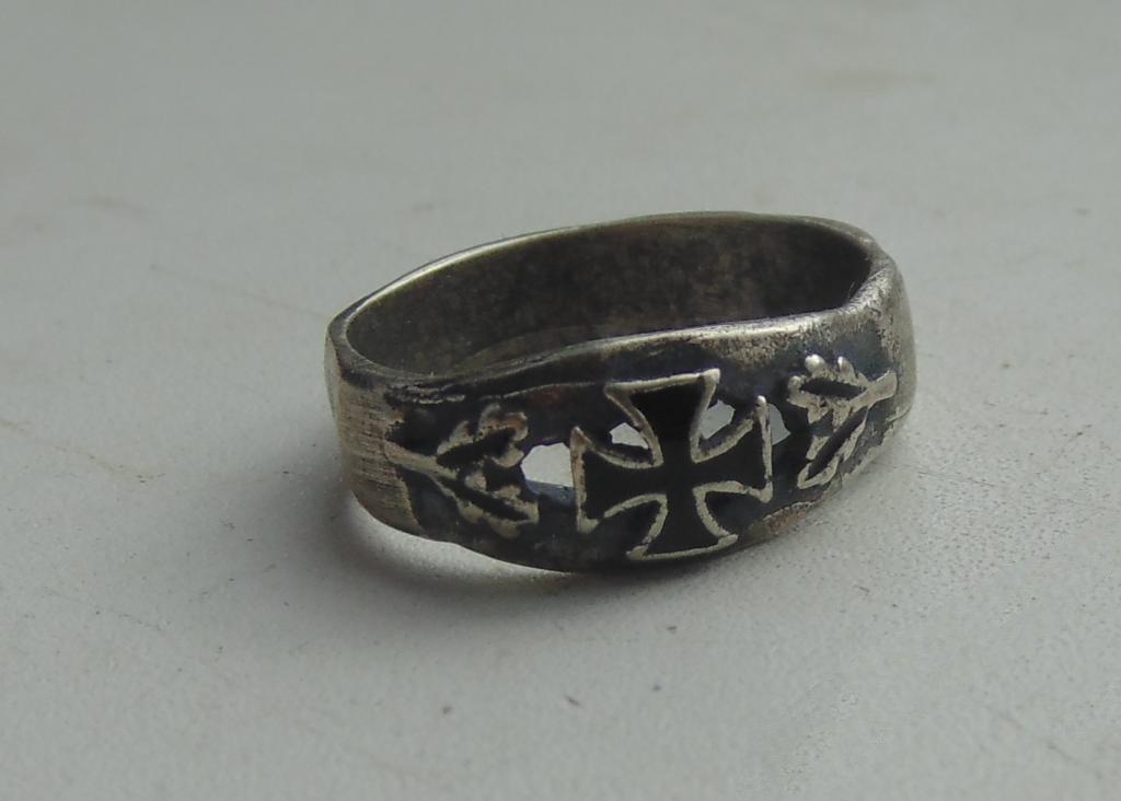 Ring Cross silver 800 #6
