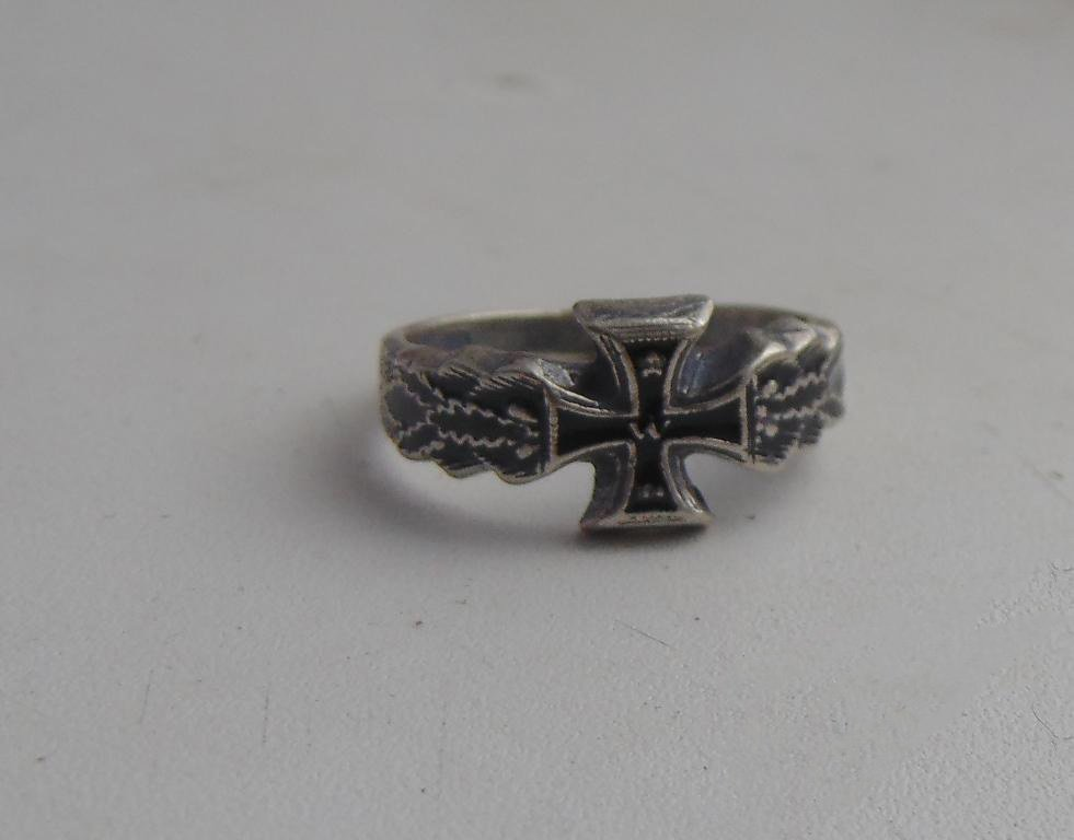 1 World Cross Ring silver 800  #7