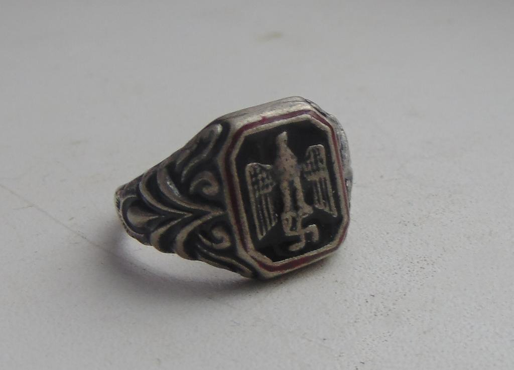 Ring EAGLE silver 800  #8
