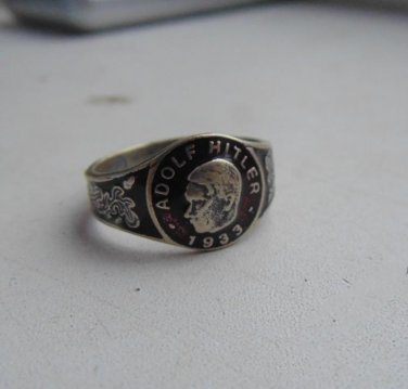 Ring A H silver 800 #14