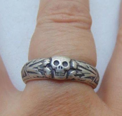 Ring Toten silver 800  #24