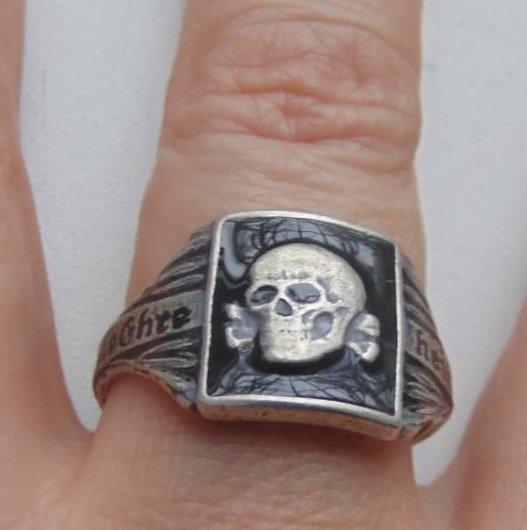 Ring Totenkopf  #35