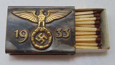 World War II matchbox  #34
